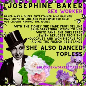 JOSEPHINE BAKER, SEX WORKER